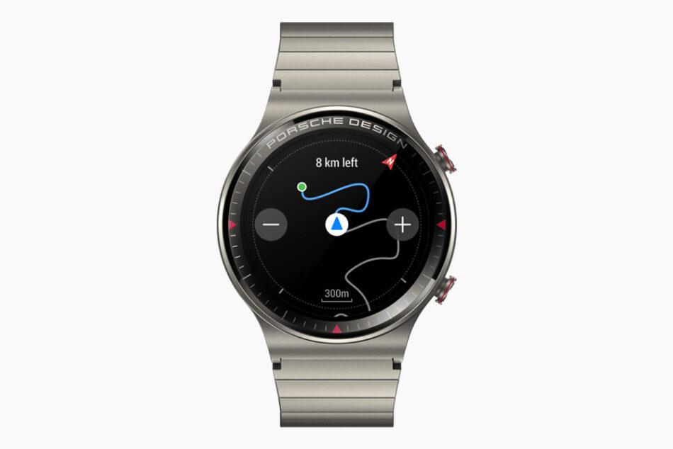 HUAWEI совместно с Porsche Design создали титановые умные часы GT 2