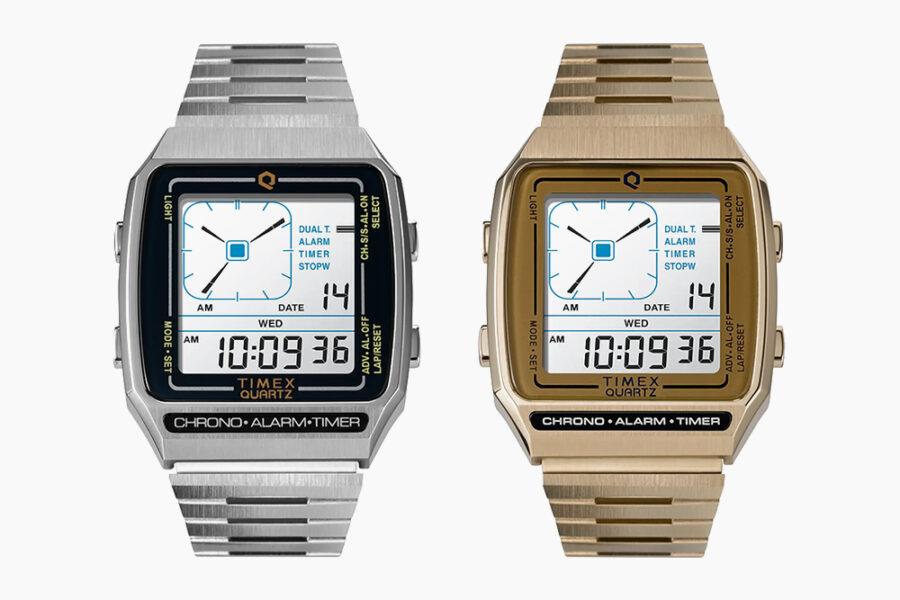Timex переиздает цифровые часы LCA в стиле ретро