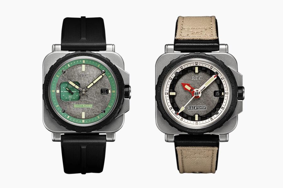 Коллекция часов REC Watches, изготовленных из стали Land Rover Defender