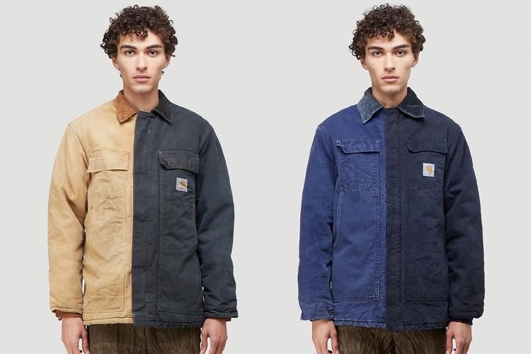 Бренд (di)vision переработал винтажную рабочую одежду Carhartt для создания совместной коллекции