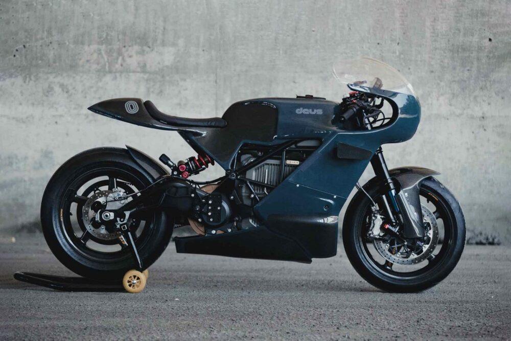 Zero Motorcycles и Deus Ex Machina создали электробайк SR / S