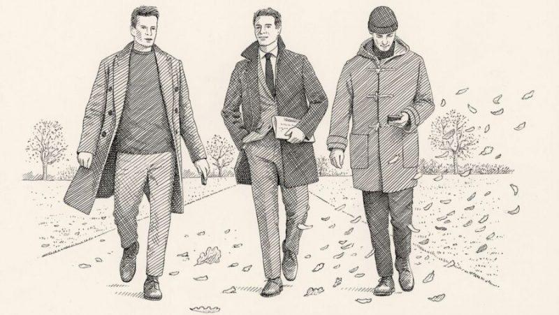 Как подобрать зимнее мужское пальто под свой тип телосложения